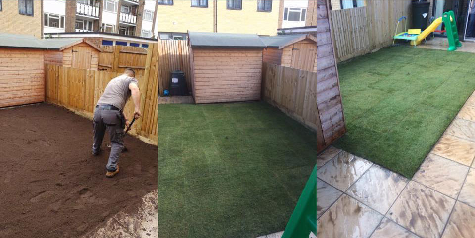 Eastbourne Turf Laying